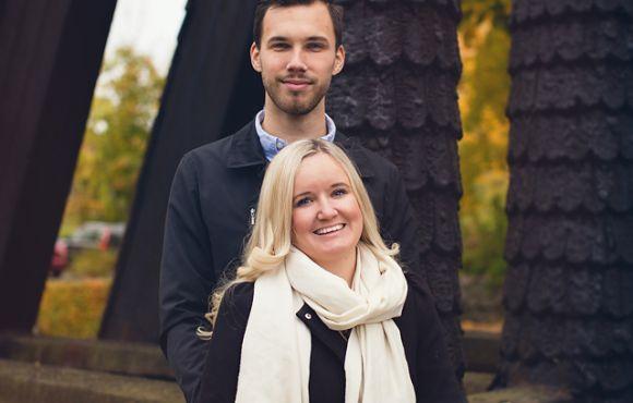 Minna och Christoffer